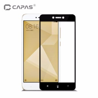 Harga Tempered Glass for Xiaomi Redmi 4X Screen Protector Almost Full Cover Protective Film - intl