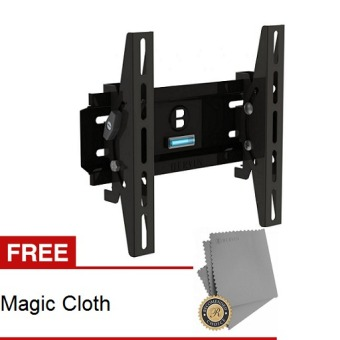 "Harga Bervin Bracket LED TV 22""- 39"" + Gratis Magic Cloth - Hitam"