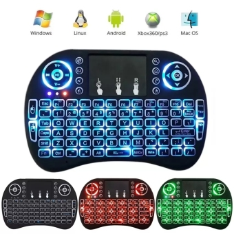 Coowalk 2.4 G Mini Portable Wireless Keyboard with Touchpad Mouse Multi-media Handheld Android Keyboard