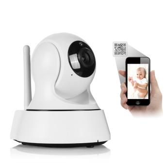 Mini HD Kamera IP Nirkabel WiFi 720P Smart Inframerah-Potong Malam Visi P2P Sayang Memantau Jaringan Kamera Keamanan CCTV Pengawasan Onvif ...