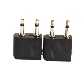 Rangkap 35 Mm Eka Steker Untuk 35 Mm Stereo Headphone Jack Audio Source · 2 Buah
