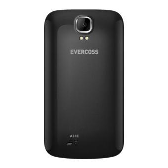 Evercoss A33E - 512MB - Hitam + Gratis Powerbank Evercoss - 3 .