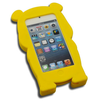 Leegoal Yellow Winnie The Pooh Bear Soft Silicone Case Cover For Apple IPod .