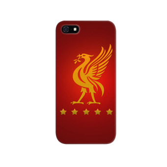 Harga Indocustomcase Liverpool Logo Apple iPhone 5/5S Custom Hard Case