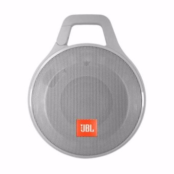 Harga JBL Clip+ Wireless Portable Bluetooth Speaker | JBL Clip + Plus Harman - Abu abu