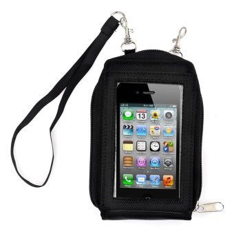 Harga Touch Purse Phone Package / Sarung Smartphone - Black