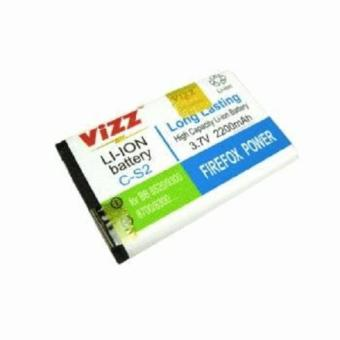 Harga Vizz Battery Batt Baterai Double Power Vizz Blackberry BB CS2 Gemini 8520/9300 2200 Mah