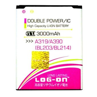 Harga Log On Double Power Battery For Lenovo A319 A390