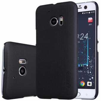 Harga Nillkin Frosted case for HTC 10 (10 Lifestyle) - Hitam + free screen protector