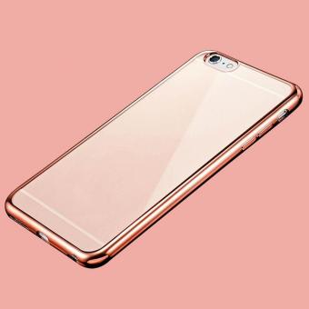 Shockproof Silicone Slim Clear Soft TPU Gel Phone Case Cover for iPhone 7 plus - intl