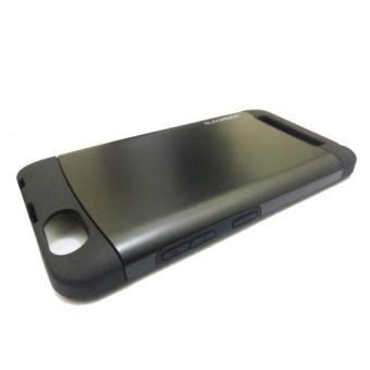 Case Lenovo Vibe C Slim Armor Hitam Tempered Glass 2 .