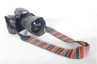 Harga Camera Soft Shoulder Neck Strap Vintage Antislip Belt for All DSLR Camera Canon Nikon Sony Pentax - intl