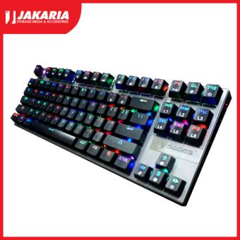 Harga Sades Gaming Keyboard LUCENT - Mechanical RGB TKL