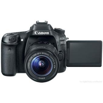 Harga Canon EOS 80D EF-S 18-55mm IS STM WiFi