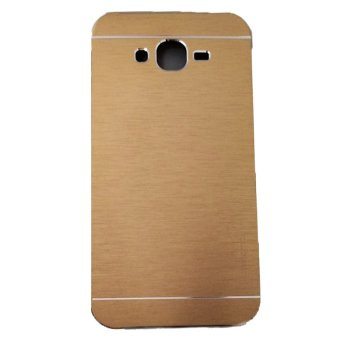 Harga Motomo Samsung Galaxy E5 E500 Metal Hardcase / Metal Back Cover / Hardcase Backcase / Metal Case - Gold