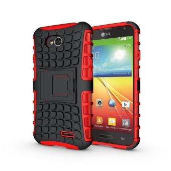 G Flex 2 Intl Zoeirc Heavy Duty Shockproof Dual Layer Hybrid Armor Protective Cover with Kickstand