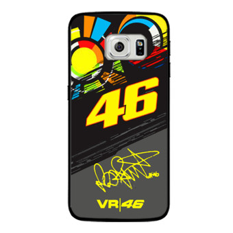 Harga VALENTINO ROSSI VR46 Cover Case For Samsung Galaxy S3 S4 S5 Mini S6 S7 edge Note 2 3 4 J5 J7 2016 - intl