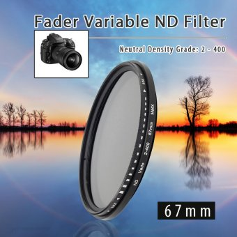 Harga XCSource 67mm Fader Variable ND Filter Neutral Density ND2 ND4 ND8 ND16 to ND400 LF26