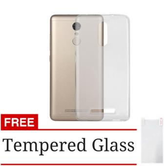 Case Ultrathin Aircase Jelly for Xiaomi Redmi Note 3 / Note 3 Pro - Clear +