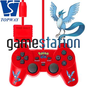 Harga TopWay PlayStation2 Best Dualshock Controller Pokemon Edition