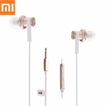 Harga Xiaomi Piston 4 Hybrid Headset - White - Gold