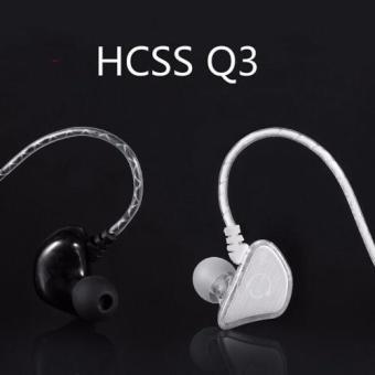 Olahraga asli Super Bass headphone di telinga headphone stereo headset dengan mikrofon pita penahan keringat tahan