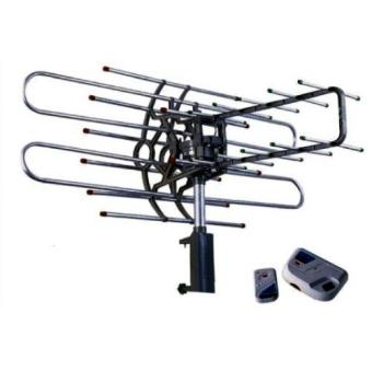 Harga Antena PF 850 Remote Controlled Rotating Antena+Cable+Booster 28 DB