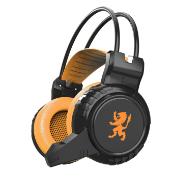 Harga Generic Headphone Plextone Gaming PC830 - Orange