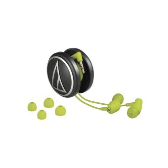 Audio Technica ATH-CLR100 Clear In-Ear - Lime Green - 2