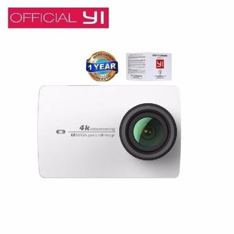 Harga Xiaomi Yi II International Version WiFi 4K Sports Action Camera 155 Degrees Wide Angle - Putih