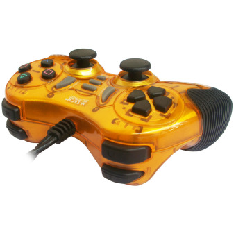 M-Tech Gamepad Turbo Double Getar MT-8200 - Gold -
