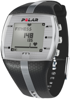 Harga 90051054 Polar FT7M HRM Watch_Black/Silver