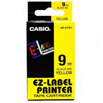 Harga Casio EZ-Label Tape XR-9YW1 - Kuning