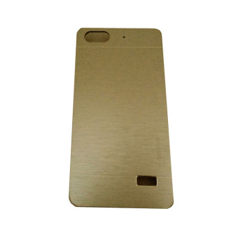Harga Motomo Huawei Honor 4C / Gplay Mini Metal Hardcase / Metal Backcover / Hardcase Backcase / Metal Case - Gold