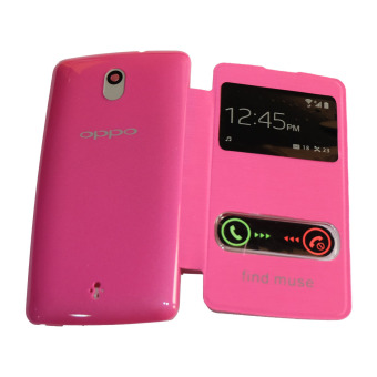 Anti Glare. Source · MR Flipcover For Oppo Find Muse R821 Leather .