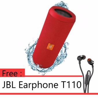Harga ANNIVERSARY SALE - BUY 1 GET 1 JBL FLIP 3 - Red + JBL T110 Black