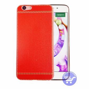 Intristore Luxur Retro Leather Pattern Soft TPU Phone Case Oppo F1S - 2 .