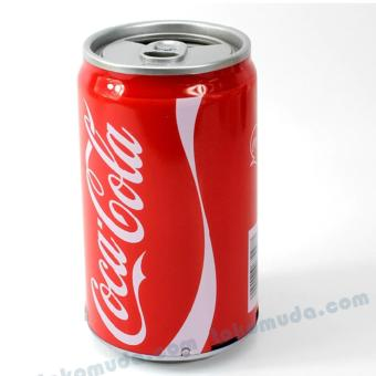 Harga Speaker Mini Kaleng MP3 Portable - Coca Cola