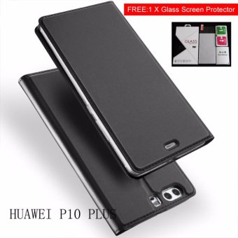 Harga New Crashproof Flip Leather Magnet Phone Case for HUAWEI P10 PLUS - intl