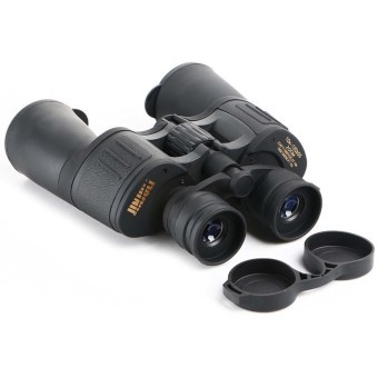 Harga Portable Outdoor 10 x - 120 x 50 HD High-magnification Zoom Night Vision Telescope Binocular with Storage Bag