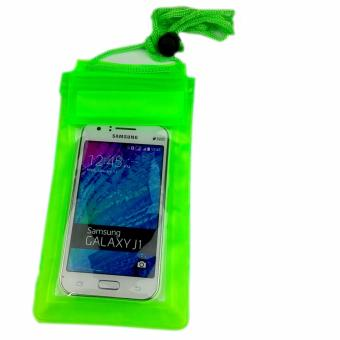 Harga Water Proof Universal Case Bag for Smartphone 6 inc - HIJAU