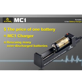 Harga Xtar MC1 Battery Charger For Li-ion