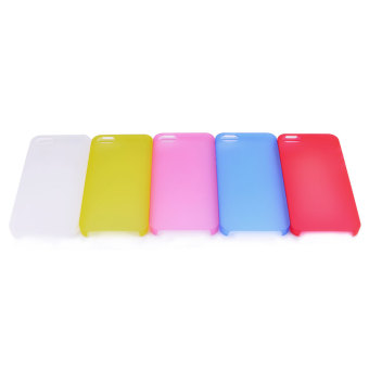Harga Protective Ultra-thin Frosted Case for iPhone 5/5S/5E Set of 5 (Multicolor)