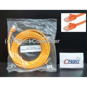 Howell Kabel LAN Cat5e Cat 5 5e Internet UTP Jaringan 5m - CT5EST-500