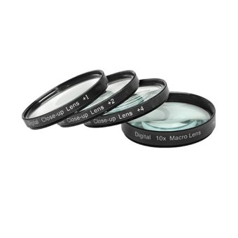 Harga Opticpro Filter Close Up-Macro Kit - +1,+2,+4,+10 - 58mm