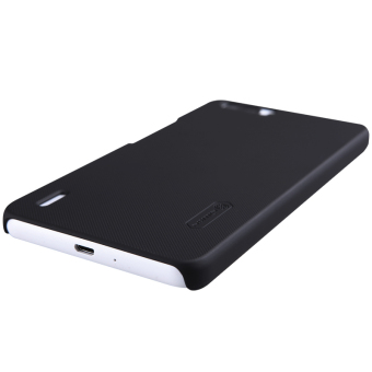 Nillkin Huawei Honor 6 Plus Super Frosted Shield Hard Case - Hitam + .