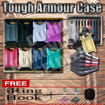 Harga Elegant Case Iron Tough Armour Samsung Galaxy V / Galaxy V Pluse - Gold + Gratis Iring + Hook
