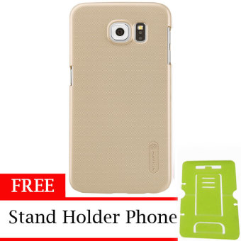 Nillkin Super Shield Hardcase 1mm ORIGINAL for Samsung Galaxy S6 - Gold + Free Stand Holder