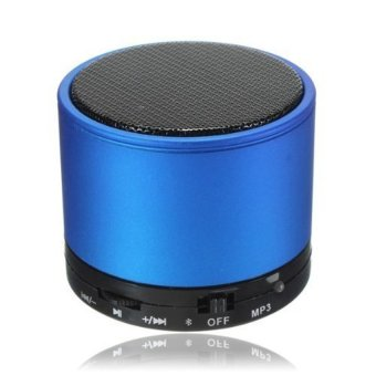 Harga Speaker S10 Rechargeable Bluetooth Wireless Mini Stereo Speaker (Blue) (Intl)