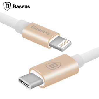 Harga Baseus 1m USB 8pin For Lightning To Type-C Cable Data Sync Charging Adapter For Macbook iPhone iPad iPod